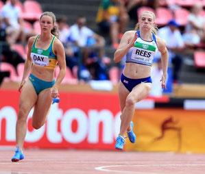 Alisha Rees at the World Junior Championships