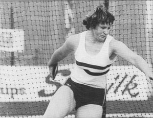 1982 gold medal winner Meg Ritchie