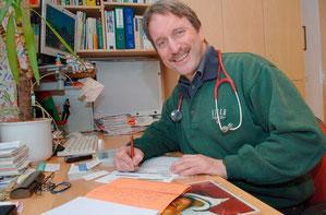 Marc Müller, Hausarzt in Grindelwald