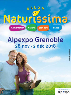 salon naturissima Grenoble