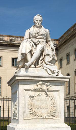 Humboldt trifft auf Verwaltungsgerichtshof: das Ideal des freien Studiums und die Präsenzpflicht. Foto: Christian Wolf (Nachweis unten)
