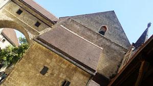 Burg Burghausen, Hauptburg, Schwibbogen, Dürnitz und Kapelle