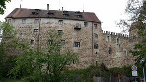Burg Abenberg, eichstättische Bauten