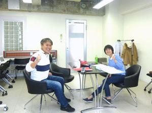 第二期生とのマンツーマン補講(2013年9月)