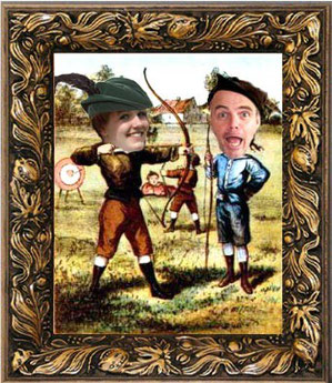 William Tell image with Steve's head swopped for William Tell