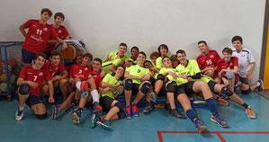 L'U16 con il Real Padova