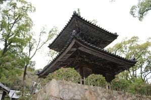 釈尊を祀る重文の多宝塔