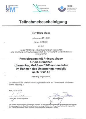 Arbeitsschutz Kreishandwerkerschaft Köln