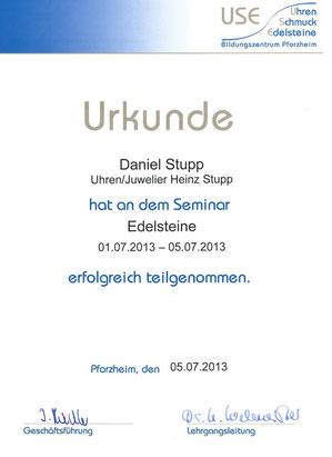 Seminar Edelsteine