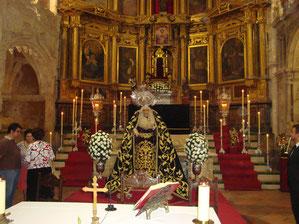 Altar conmemorativo 75 Aniversario