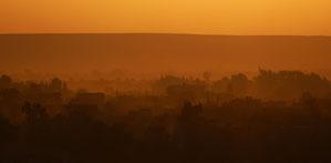 Sonnenuntergang Bahryia Oase