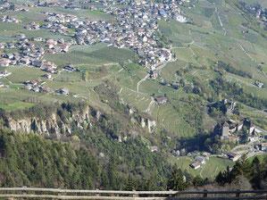 Schlossweg, Brunnenburg, Schloss Tirol in dorf tirol