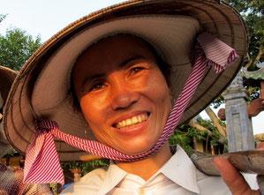 in Vietnam nur freundliche Gesichter