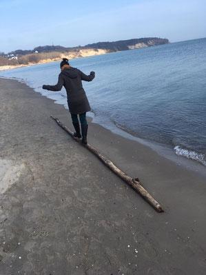 Fastenwanderung am Meer