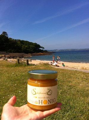 Unser Bio Blüten Honig passt auch zu einem irischen Frühstück