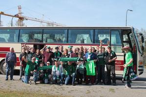 Rödinghauser Reisegruppe am WiehenExpress