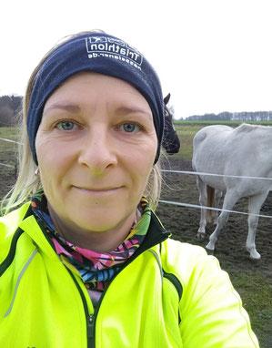Nadine Mertens freut sich auf ihren ersten Charity-Lauf