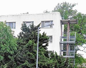 Die Rettungskräfte sollen in Räumen am Giebel des Idener Internatsgebäudes untergebracht werden. Archivfoto: Ingo Gutsche