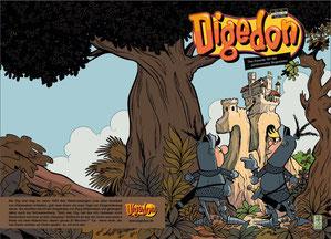 Digedon Heft Nr. 17, Februar 2020, Cover Jan Suski, Digedags, MOSAIK Hannes Hegen