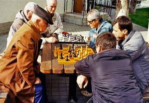 das Schachspiel hat im Osten eine lange Tradition