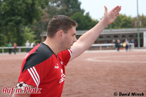 BRK-Trainer Marco Klaus zeigte die Richtung an.