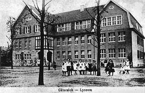 Neubau des Lyceums von 1912/13