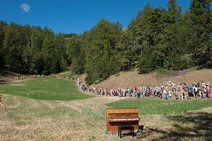 Balades musicales, Festival de Chaillol, Canal de Malcros, Hautes Alpes, Champsaur