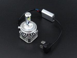 LEDヘッドライト 配線