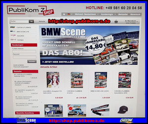 BMW Scene Magazin Shop