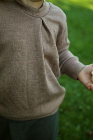 Der Pullover mit der Falte For Schur