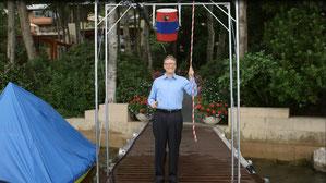 Bill Gates bei der Ausführung / Quelle: YouTube