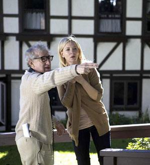 Woody Allen dirige Cate Blanchett pour la première fois (©Mars Distribution)