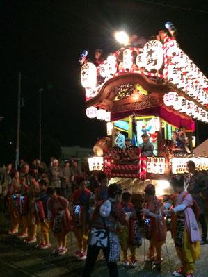 佐倉の秋祭り 鏑木お神酒所 写真
