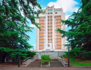 Гостиница АЛУШТА Крым, г. Алушта, ул. Октябрьская