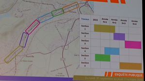 Le calendrier du projet RD 910 grande rue de sèvres