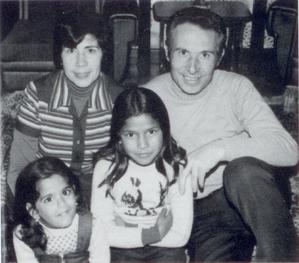 Hivern del 1975. La família Miró al complet