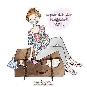 Que mettre dans sa valie pour aller à la maternité