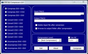 PSP ISO Compressor v1.4