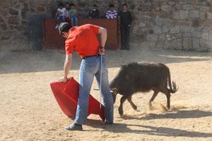 Diego García Antón en la Finca de los Eulogios de Colmenar Viejo