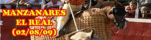 Reportaje novillada en Manzanares el Real realizado por Araceli Aliseda