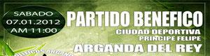 Partido benefico Toreros contra futbolistas en Arganda del Rey