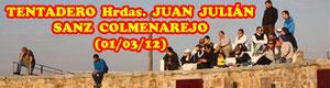 Tentadero en Cerrolongo Ganadería Hrdas. Juan Julián Sanz Colmenarejo de Colmenar Viejo