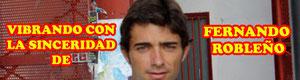 Entrevista al matador de toros Fernando Robleño