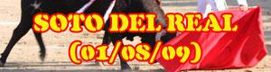 Reportaje novillada en Soto del Real con Juan Carlos Rey, Beatriz Tablado y Miguel de Pablo