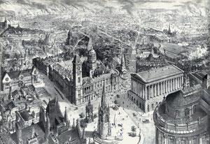 Birmingham town centre 1886