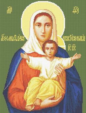 Образ Пресвятой Богородицы - Леушинская