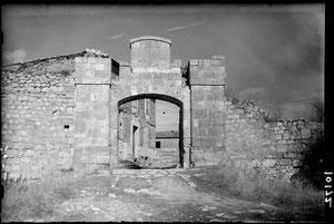 Puerta Castillo de Burgos