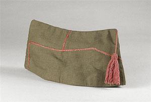 Bonnet de police modèle 1926 espagnol du camp de Miranda de Ebro