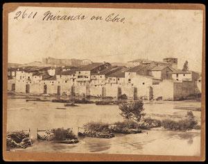 Foto,de la parte antigua de Miranda 1860-1870