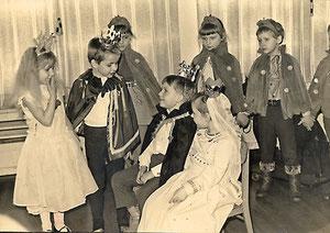Dornröschenaufführung im Kindergarten
